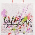 Shopping bag #113, 2005. Gouache and pencil on paper, 44,7 x 30 cm, 17 5/8 11 3/4 inches