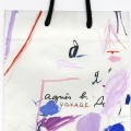 Shopping bag # 147, 2006. Gouache and pencil on paper, 41,5 x 22,2 cm, 16 3/8 x 8 3/4 inches