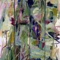 Le Bonheur sur le Bosphore, 1999. Oil on cardboard, wood, 179,8 x 122,6 cm, 70 3/4 x 48 1/4 inches