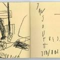 #19E (pp. cd), 1991. Pastels, 20,1 x 33,7 cm.