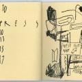 #19E, 1991. Pastels, 20,1 x 33,7 cm.