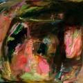 Petits bonheurs #10 (Les Secrets de Mnémosine), 2005. Oil on canvas, 54 x 65 cm, 21 1/4 x 25 5/8 inches