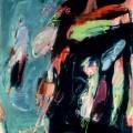 Petits bonheurs #13 (Portrait de famille), 2005. Oil on canvas, 70 x 67 cm, 27 1/2 x 26 3/8 inches