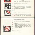 Comment ça va ?, de Vladimir Maïakovski (pp. 56-57), Clémence Hiver Editeur, 1988. Gravure sur bois