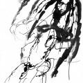 Au sud de nulle part #54, 2011. Indian ink on paper, 29,4 x 20,8 cm, 11 5/8 x 8 1/4 inches