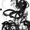 Au sud de nulle part #55, 2011. Indian ink on paper, 20,7 x 14,7 cm, 8 1/8 x 5 3/4 inches